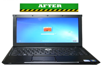 laptop after screen repair